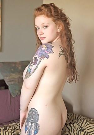 Big Ass Tattoo Porn Pictures